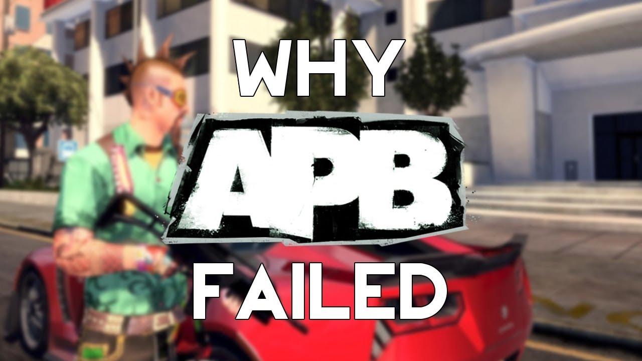 Download Why APB Failed : Gaming's $100,000,000 Failure