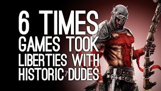 6 Times Games Took Major Liberties With Historic Dudes