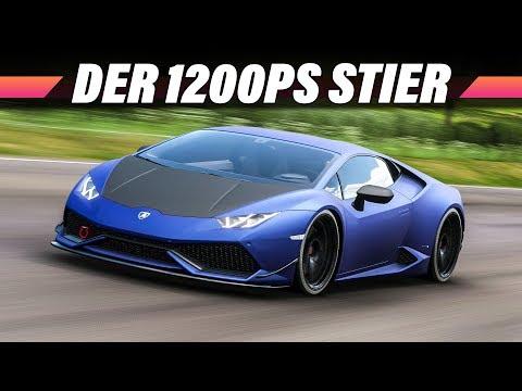 1200PS im Lamborghini Huracan – FORZA HORIZON 4 Gameplay German | Lets Play 4K 60FPS Deutsch