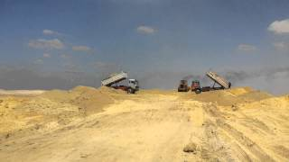 Suez Canal New: Auto received sand pits in sedimentation basins