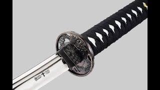 (Тест на природе): Самурайский меч Katana 4126 обзор от Артема)