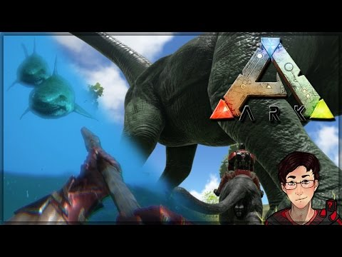 Ark: Survival Evolved - Operation Dinosaur Army and Ocean Dominance!