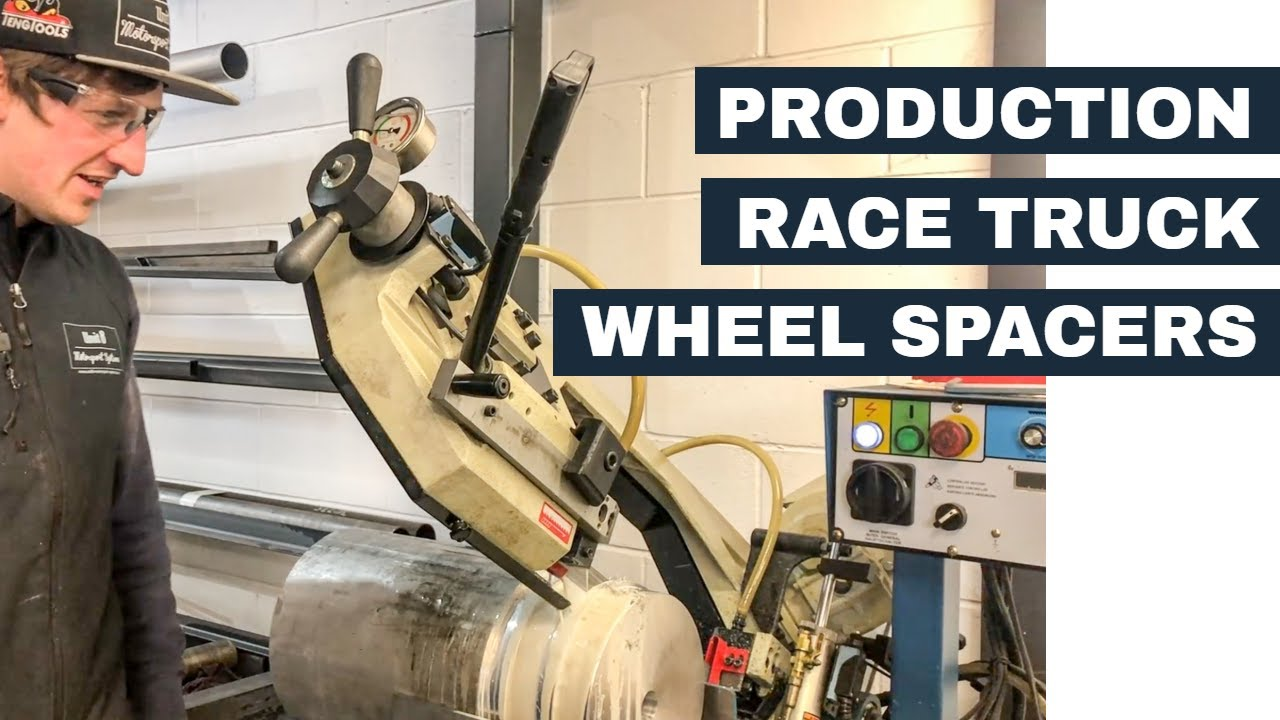 Production Race Truck Wheel Spacers