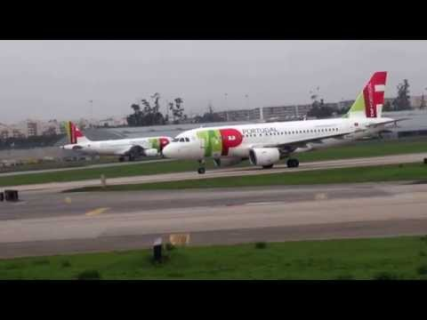 Flight Oporto to Angola - Take off and Landing (Oporto-Lisbon-Luanda)