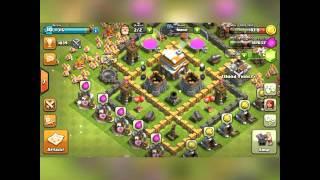 Clash Of Clans | All barb Raid