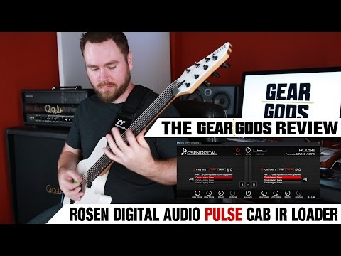 Rosen Digital Audio PULSE Free Cab IR Loader Review | GEAR GODS