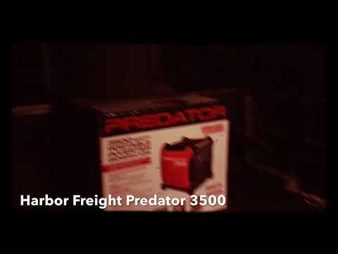 Harbor Freight Predator 3500 Unboxing and General Review