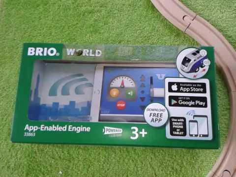 Brio 33863 App-Enabled Engine - demonstration remote control