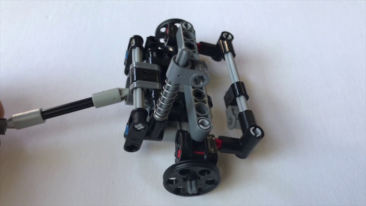 Lego Technic Mini Front Wheel Drive With Steering Building