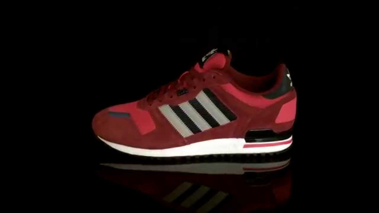 adidas zx 700 red navy