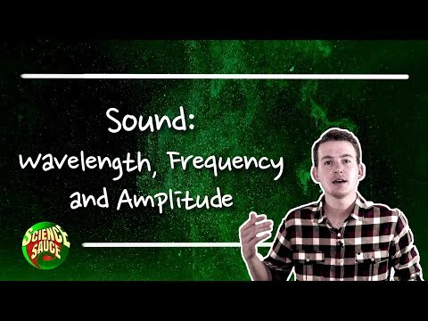 Sound: Wavelength, Frequency and Amplitude.