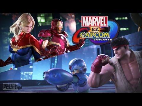 Marvel vs. Capcom Infinite Reveal Trailer! (PSX 2016)