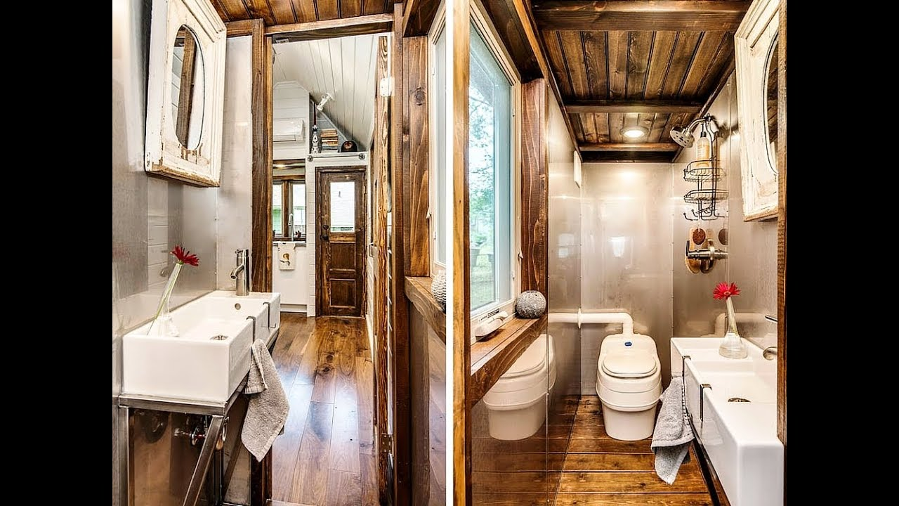 Best Tiny House Bathrooms Ideas - YouTube