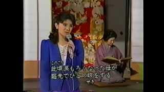 """""""秋桜(コスモス)""""は、森昌子さんの温かいお人柄と、情感たっぷりの歌..."""