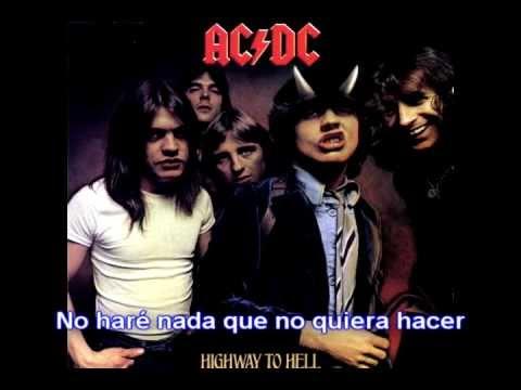 AC/DC - Highway to hell (Subtitulos en español) - YouTube