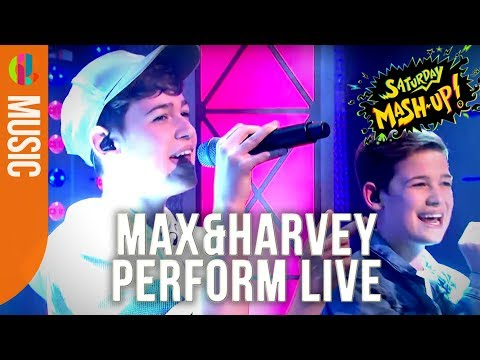 Max & Harvey perform 'Words' | Live on Saturday Mash-Up!