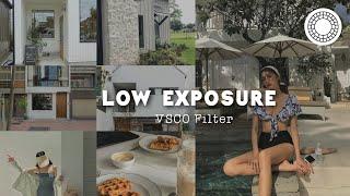 Low Exposure VSCO photo editing tutorial | vsco filter screenshot 3