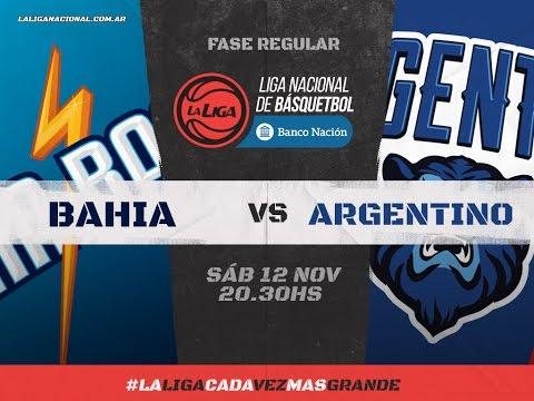 Liga Nacional: Bahía Basket vs. Argentino | #LaLigaEnTyC
