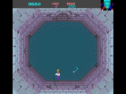 Arcade Game: Snake Pit (1984 Bally/Sente)
