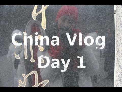 China Vlog || Day 1+What's in my Travel Bag!