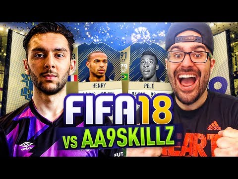 TASS VS AA9SKILLZ ON FIFA 18 ULTIMATE TEAM!! THIERRY VS PELE