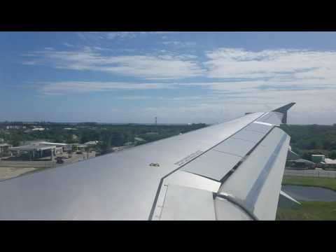 Landing in the Grand Cayman island!