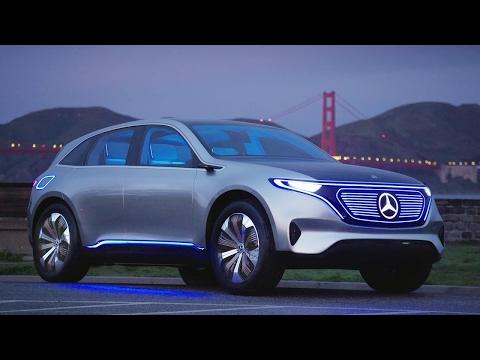 Mercedes EQ Concept - interior Exterior and Drive- New 2017