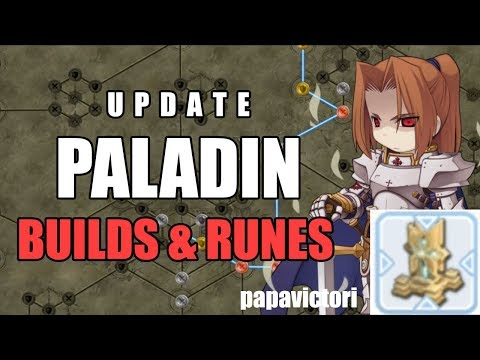 Ragnarok Mobile : Paladin Build and Runes