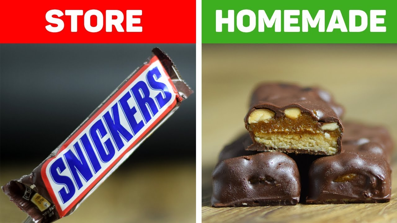 How to Make Healthy Snickers