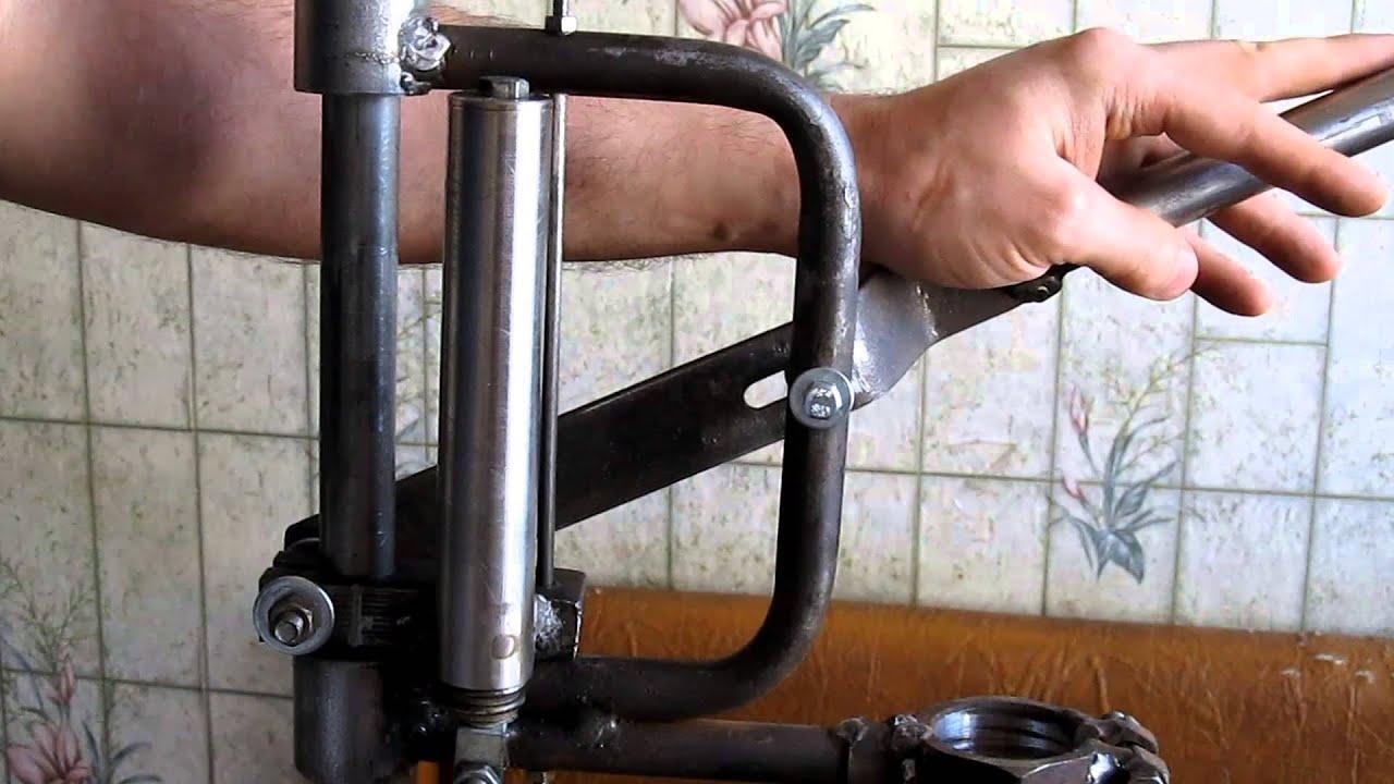 Стойки для дрели своими руками видео