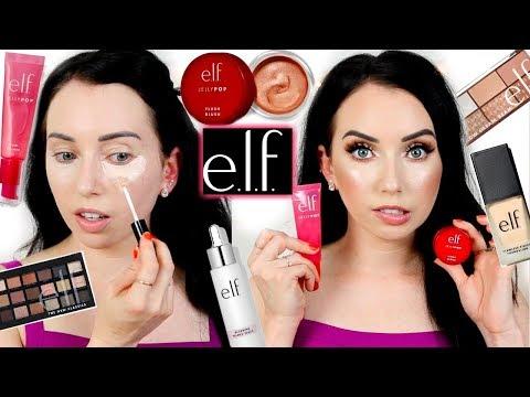e.l.f. Cosmetics NEW MAKEUP First Impressions! Jelly Primer?! thumbnail