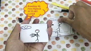 Remaking My First Flipbook 30 YEARS LATER 1 Andymation