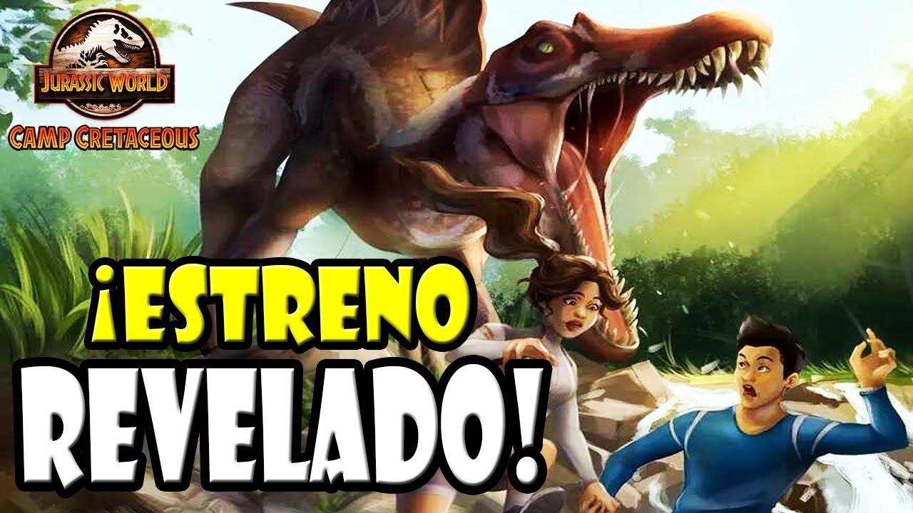 ¡FECHA DE ESTRENO DE JURASSIC WORLD: CAMP CRETACEOUS [TEMPORADA 4] REVELADA!