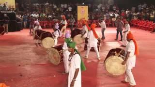 Garjana competition 2015. Gajar dhol tasha pathk