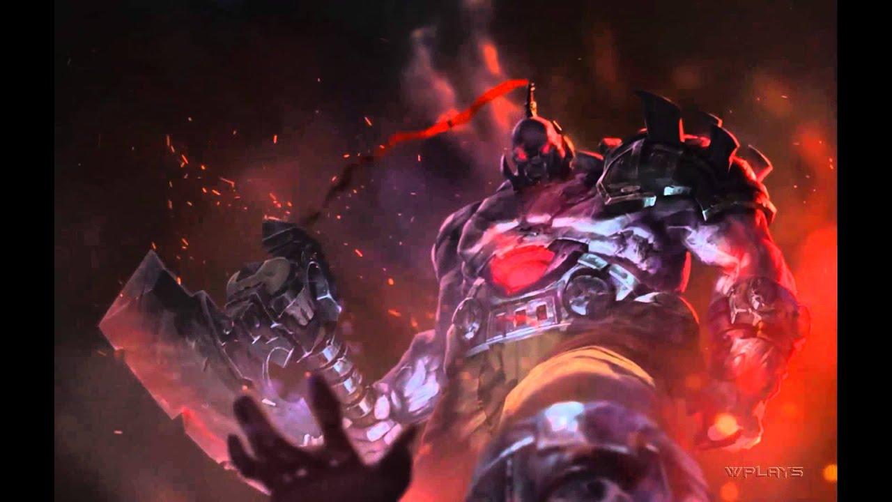 League of Legends - Sion Login...