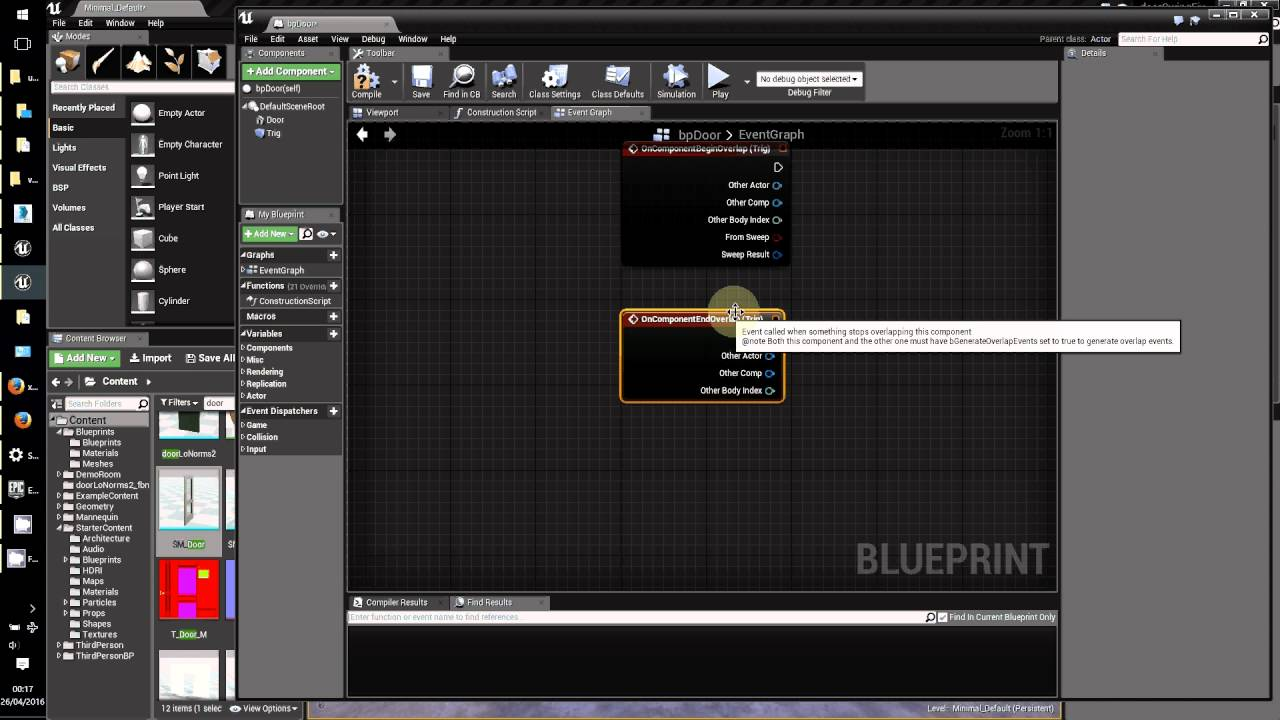 Open a door ue4 blueprint timeline youtube open a door ue4 blueprint timeline malvernweather Gallery
