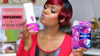 FEMININE HYGIENE + PERIOD TIPS | OMABELLETV