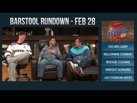 Barstool Rundown February 28, 2017