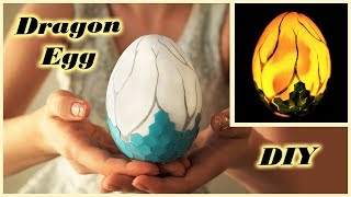 DRAGON EGG inspired by FORTNITE | DIY Easter egg | night lamp