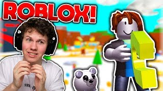 I GOT A KOALA!! (SAMPLES ROBLOX FOR THE FIRST TIME!!) -Danish Roblox