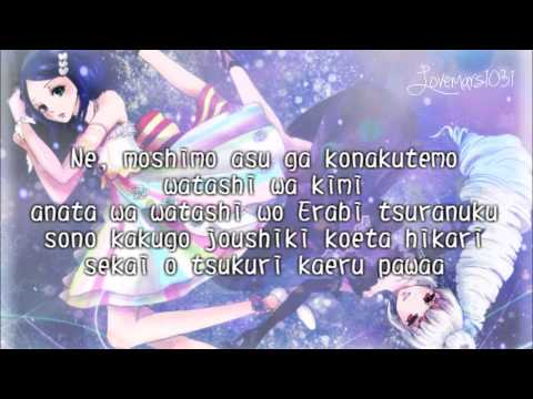Pretty Rhythm Rainbow Live - Rinne × June - Sevendays Love, Sevendays Friend - Lyrics - Full