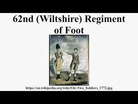62nd (Wiltshire) Regiment of Foot