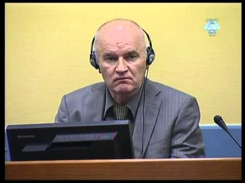 Initial Appearance - Mladić (Part 1/3) - 3 June 2011