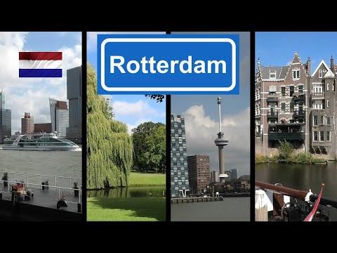 HOLLAND: Rotterdam (harbour, Het Park, Euromast, Delfshaven)