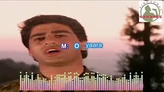 O YAARA KAISI HAI TERI BEWAAFAAYI Hindi karaoke for Male singers with lyrics