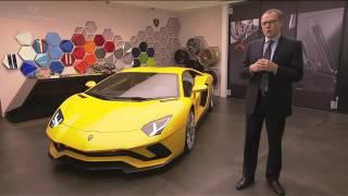 Introducing the new Lamborghini Aventador S.