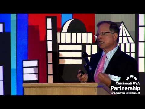 IBM's Stanley S. Litow speaks at Cincinnati USA Partnership 2013 Report to the Community