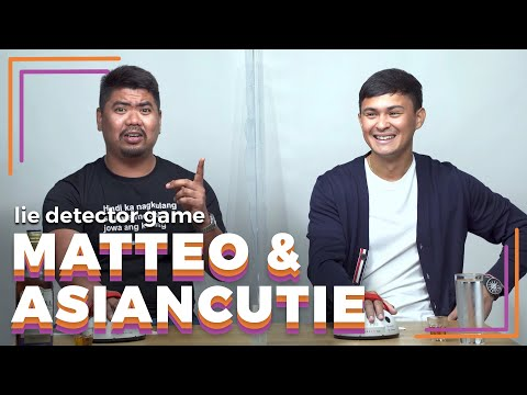 Matteo Guidicelli and AsianCutie Play a Lie Detector Drinking Game   Rec•Create