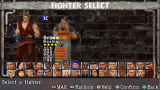 Urban Reign All Characters [PS2]