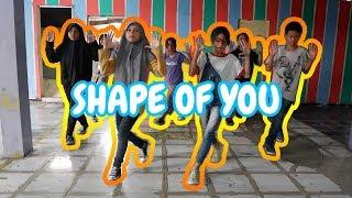 SIMPLE DANCE SHAPE OF YOU - ED SHEERAN (COVER) GEN HALILINTAR   COJB